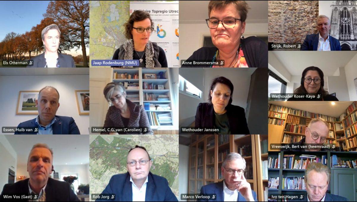 Utrechtse overheden zetten zich samen in voor circulair bouwen en ontwikkelen