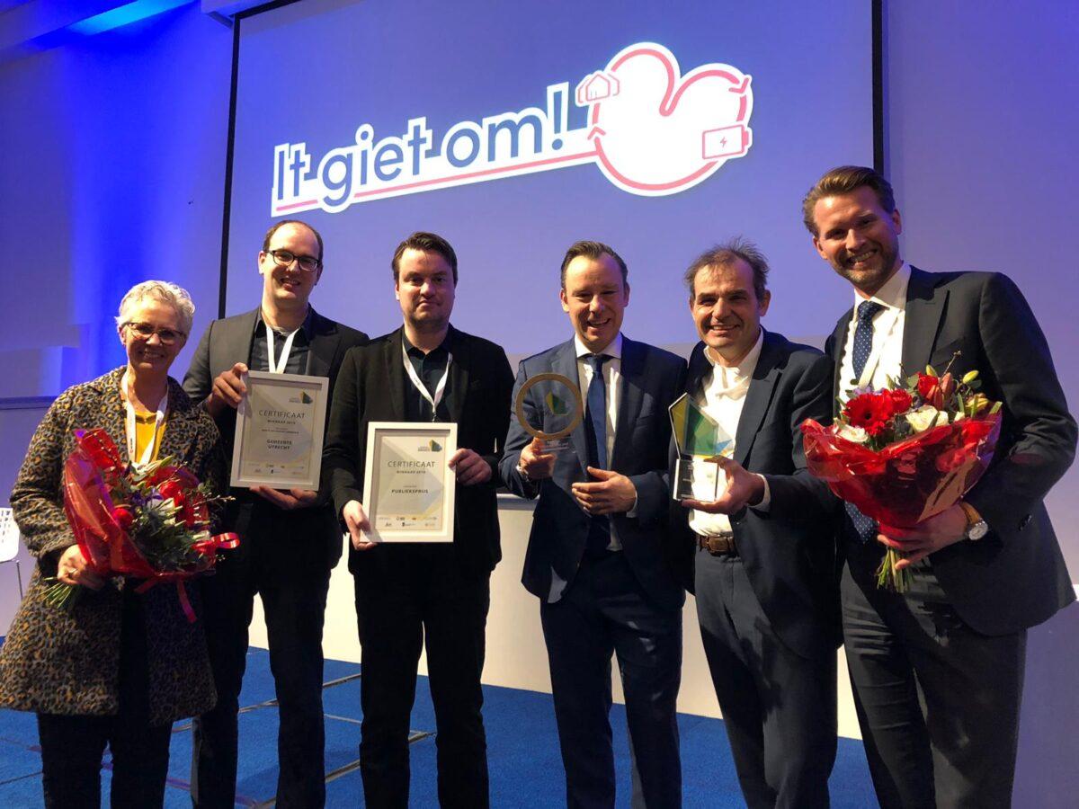 Utrecht wint prijzen voor duurzaam bouwen