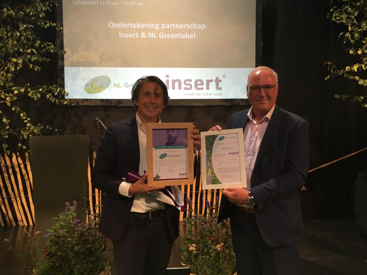 NL Greenlabel en Stichting Insert gaan samenwerken