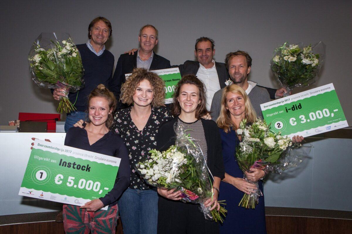 Instock wint Duurzaamheidsprijs 2017