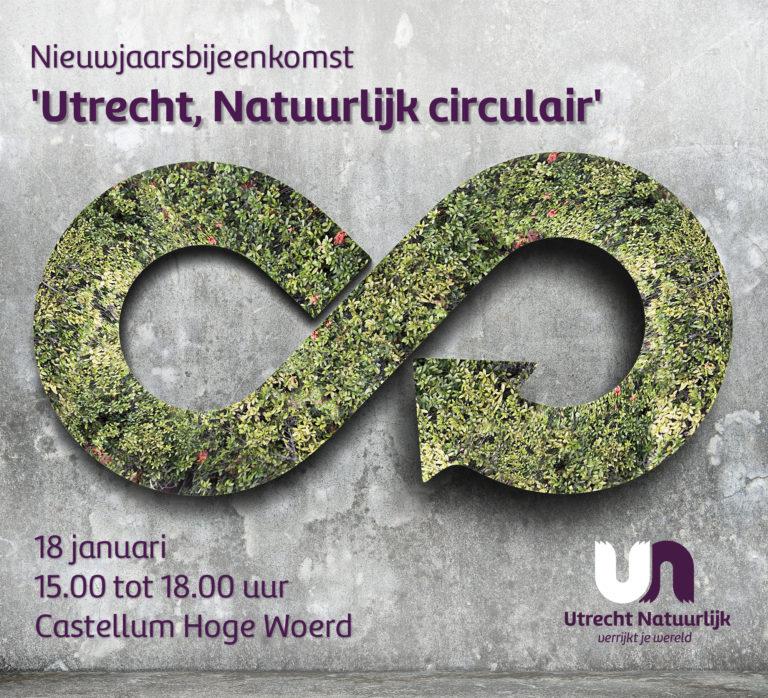 Nieuwjaarsbijeenkomst 'Utrecht, Natuurlijk circulair'