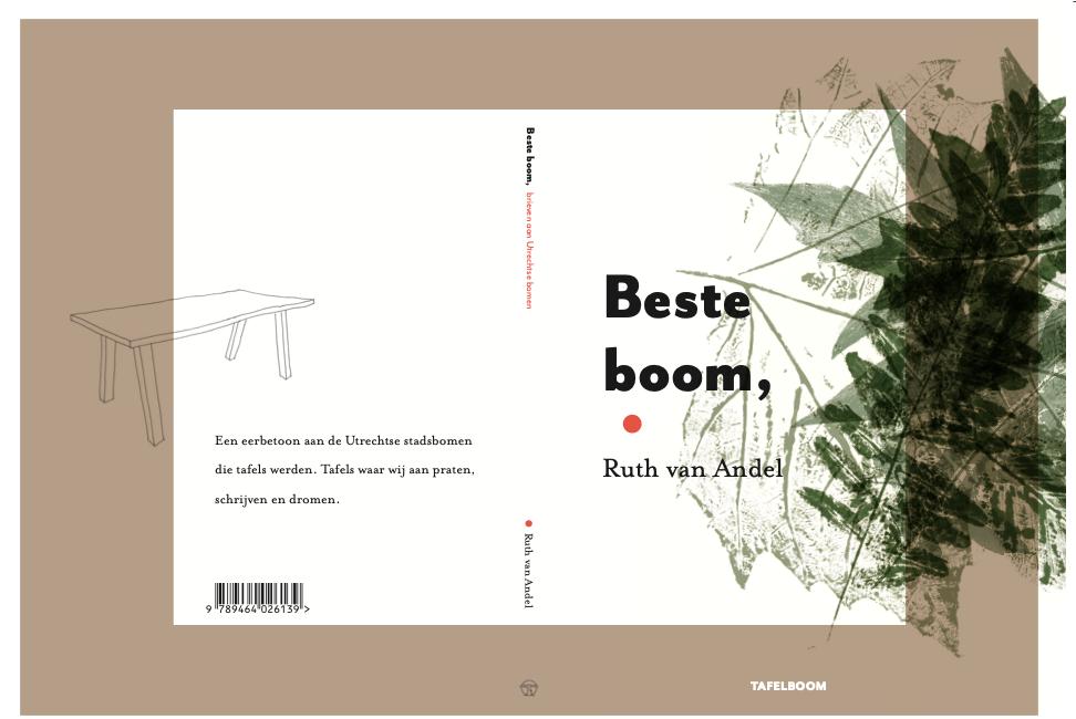Nieuw boek van Tafelboom: eerbetoon aan bomen die tafels werden