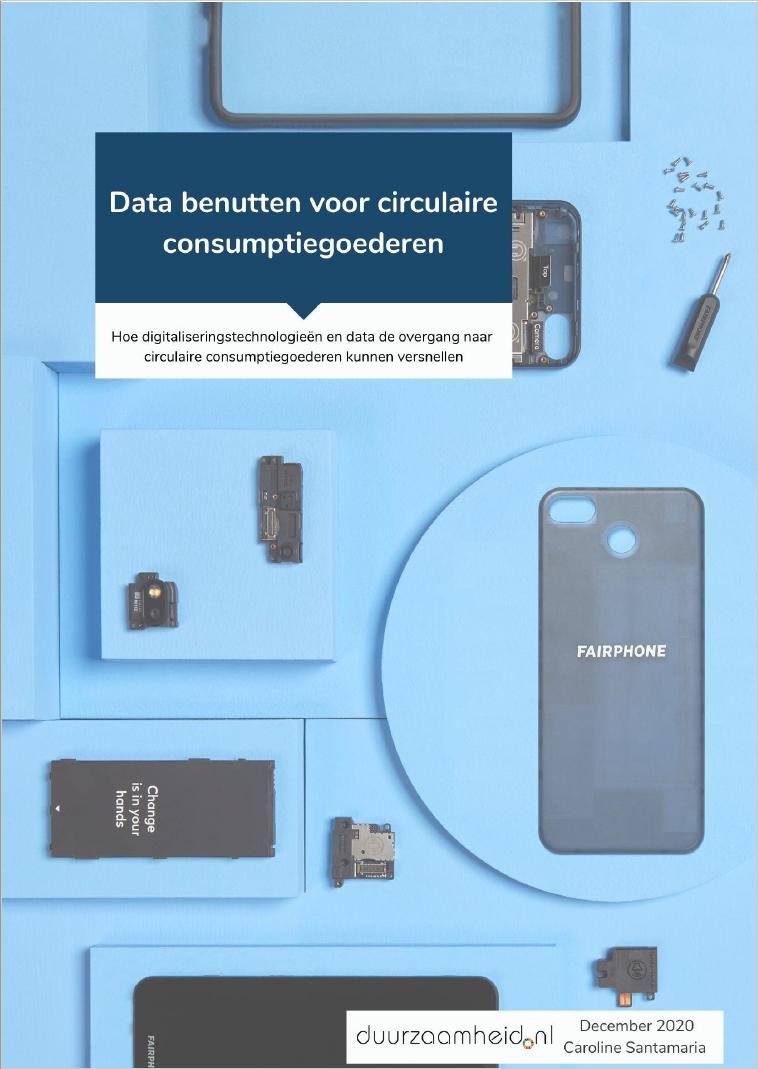Data benutten voor circulaire consumptiegoederen