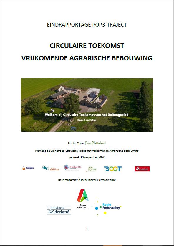 Circulaire toekomst vrijkomende agrarische bebouwing