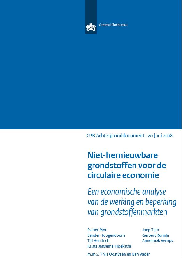 Economische analyse van werking en beperking van grondstoffenmarkten