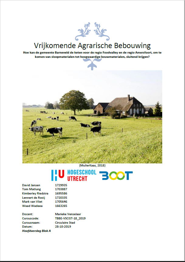 Vrijkomende Agrarische Bebouwing