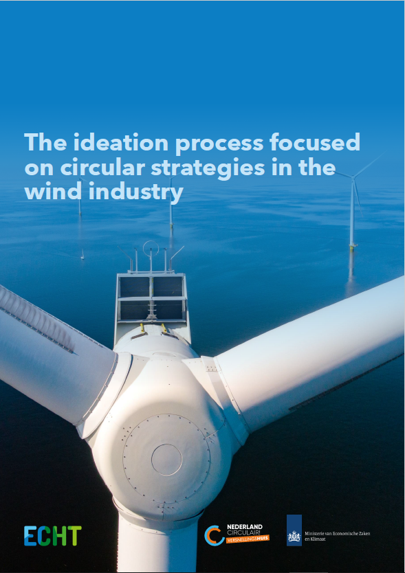 Ideation process of circular strategies in wind industry